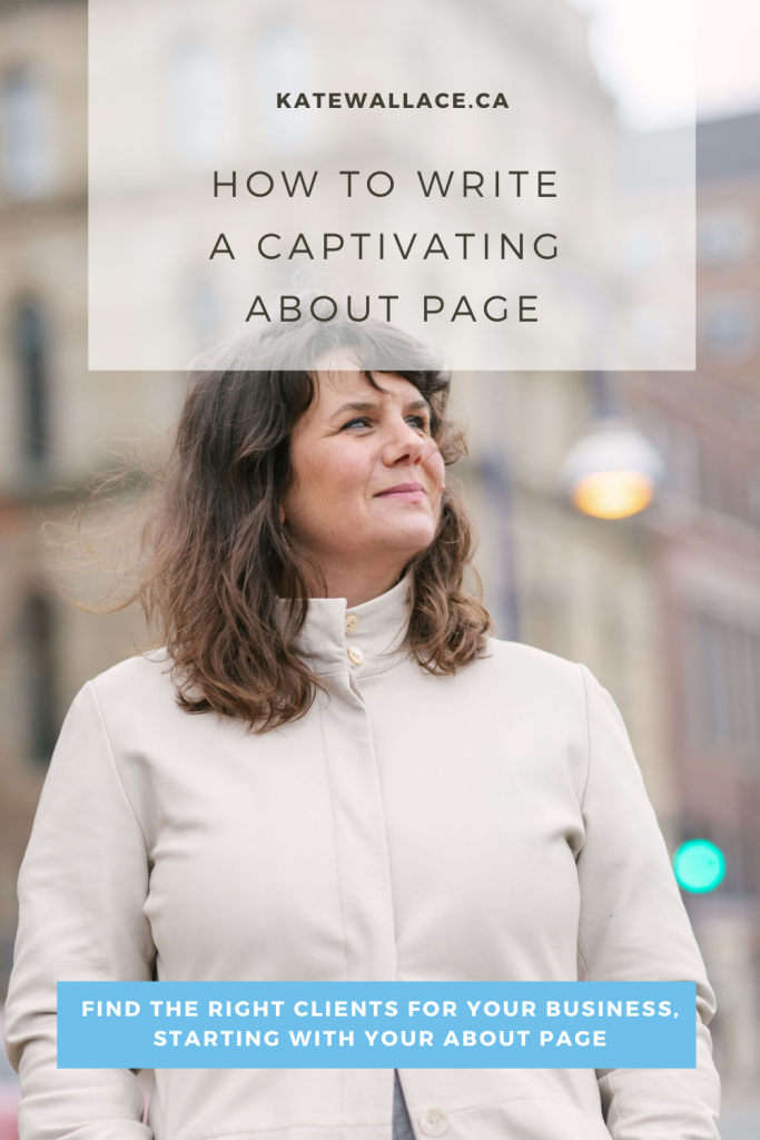 After your homepage, your about page is the most important real estate on your website. The stakes are high, which is why it feels so impossible to find the right words to convey–often in short order–what you're all about. Here's how to make writing your about page easy!